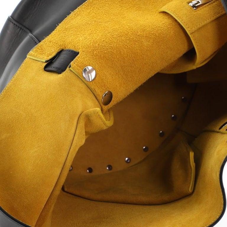 Celine Biker Bucket Shoulder Bag Calfskin Small For Sale 6