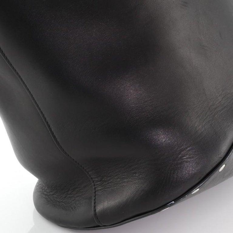 Celine Biker Bucket Shoulder Bag Calfskin Small For Sale 3