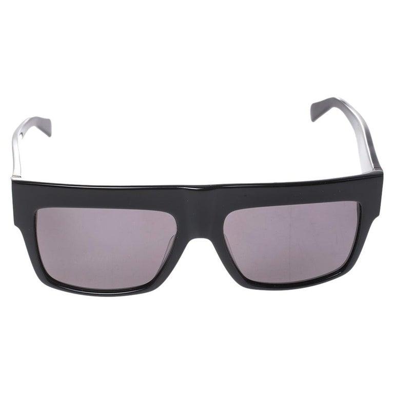 Celine Black/Grey CL 41756 Square Polarized Sunglasses For Sale