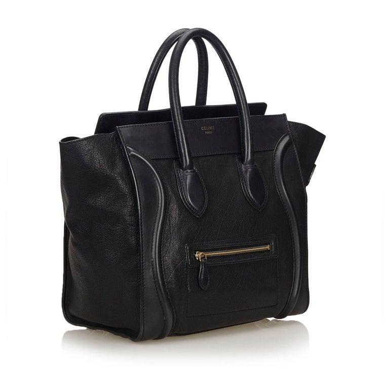 Celine Black Large Luggage Phantom For Sale at 1stdibs be534a511b705