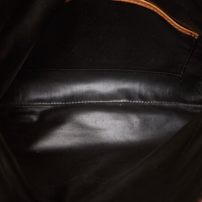Celine Black Leather Clutch Bag For Sale 1
