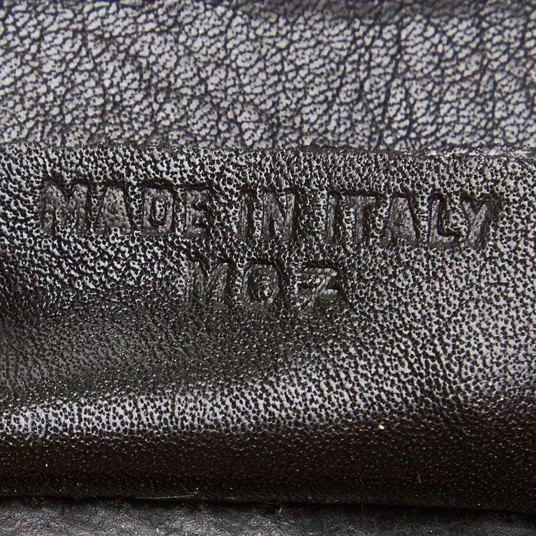 Celine Black Leather Clutch Bag For Sale 3