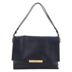 Celine Blade Shoulder Bag Leather