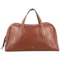 Celine Bowling Bag Leather Large