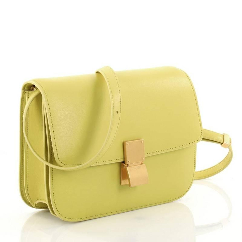 023faa3c8a Celine Box Bag Smooth Leather Medium at 1stdibs