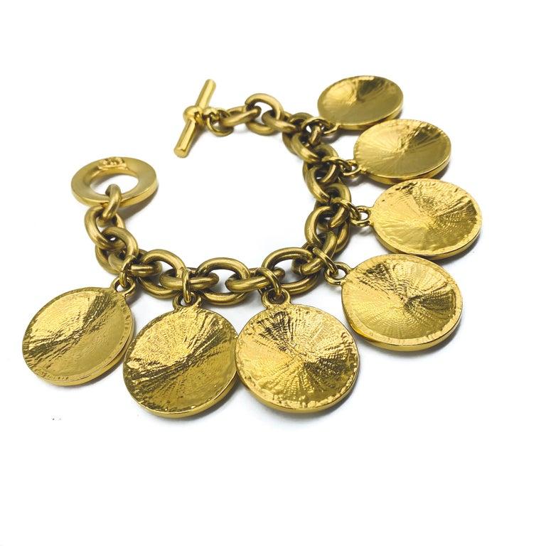 CELINE Bracelet Vintage 1980s  For Sale 1