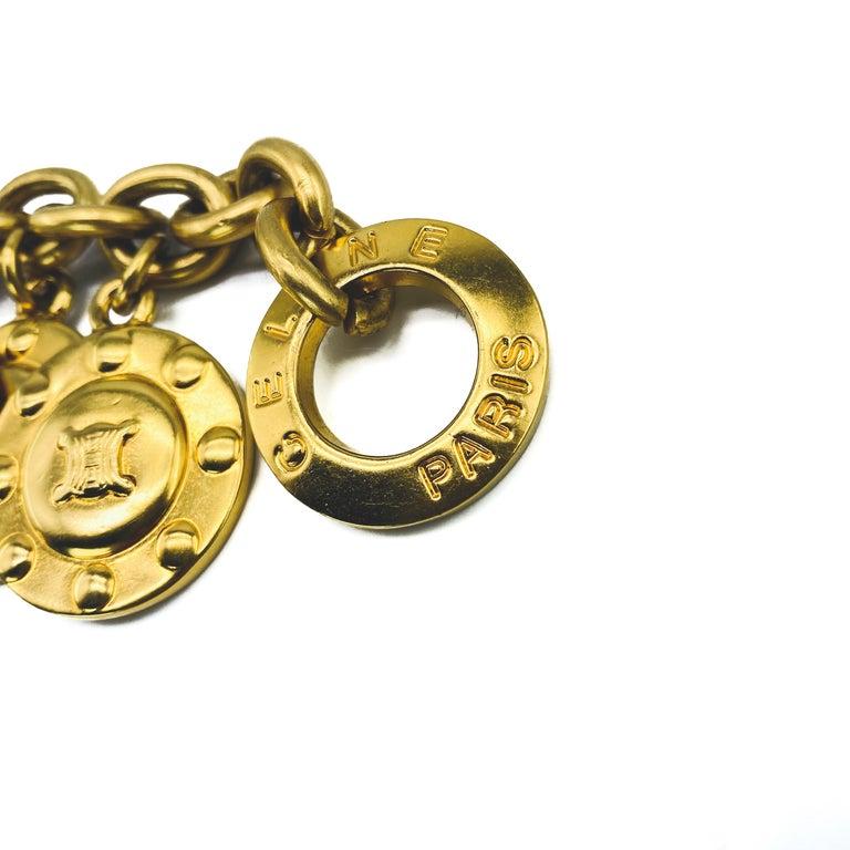 CELINE Bracelet Vintage 1980s  For Sale 2