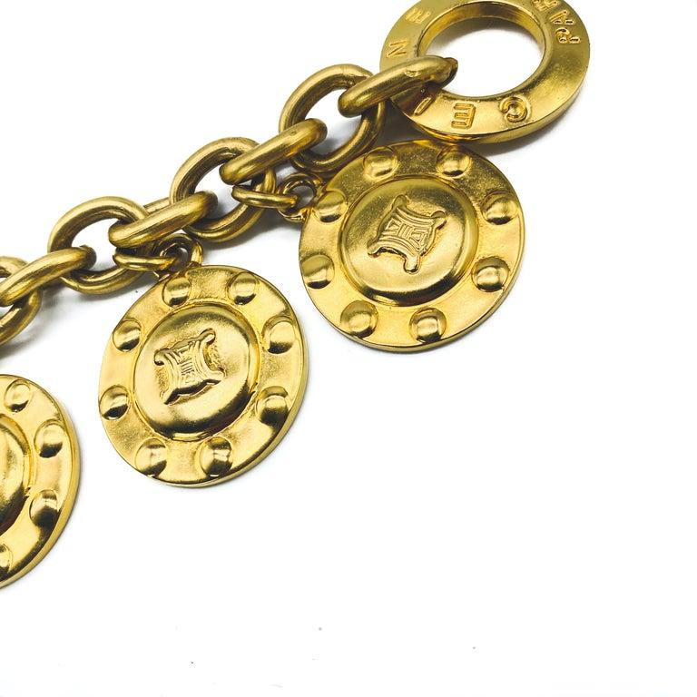 CELINE Bracelet Vintage 1980s  For Sale 3