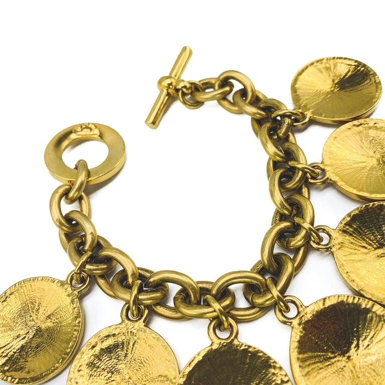 CELINE Bracelet Vintage 1980s  For Sale 4