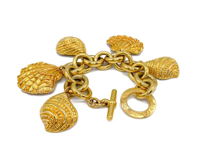 CELINE Bracelet Vintage 1990s For Sale 7