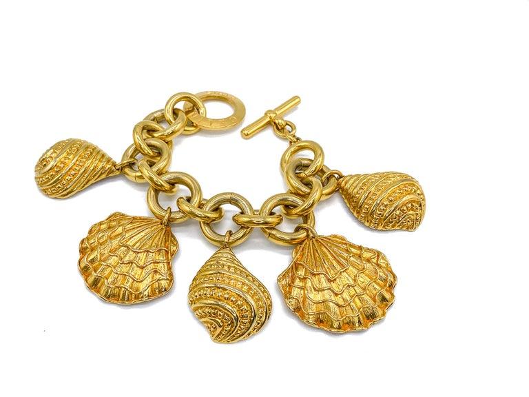 CELINE Bracelet Vintage 1990s For Sale 1