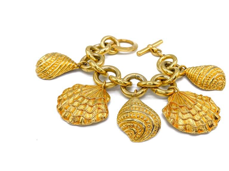 CELINE Bracelet Vintage 1990s For Sale 2