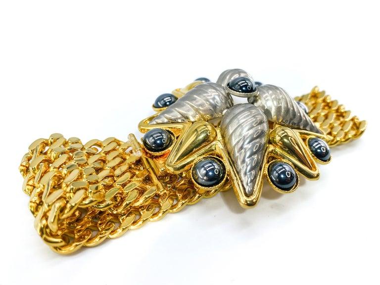 CELINE bracelet Vintage 1990s For Sale 3