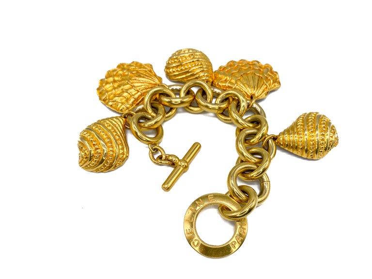 CELINE Bracelet Vintage 1990s For Sale 4