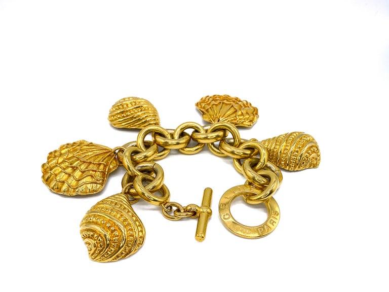 CELINE Bracelet Vintage 1990s For Sale 6