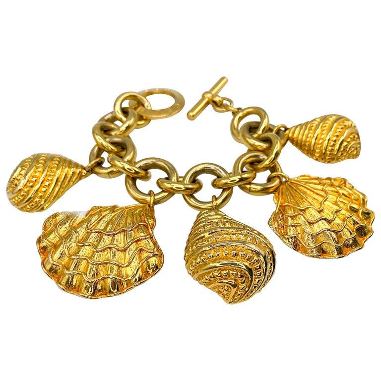 CELINE Bracelet Vintage 1990s For Sale