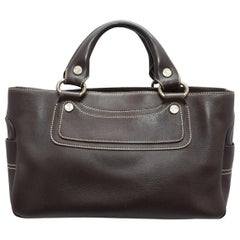 Celine Brown Boogie Leather Bag