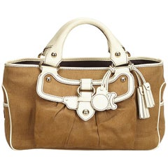 Celine Brown Canvas Boogie
