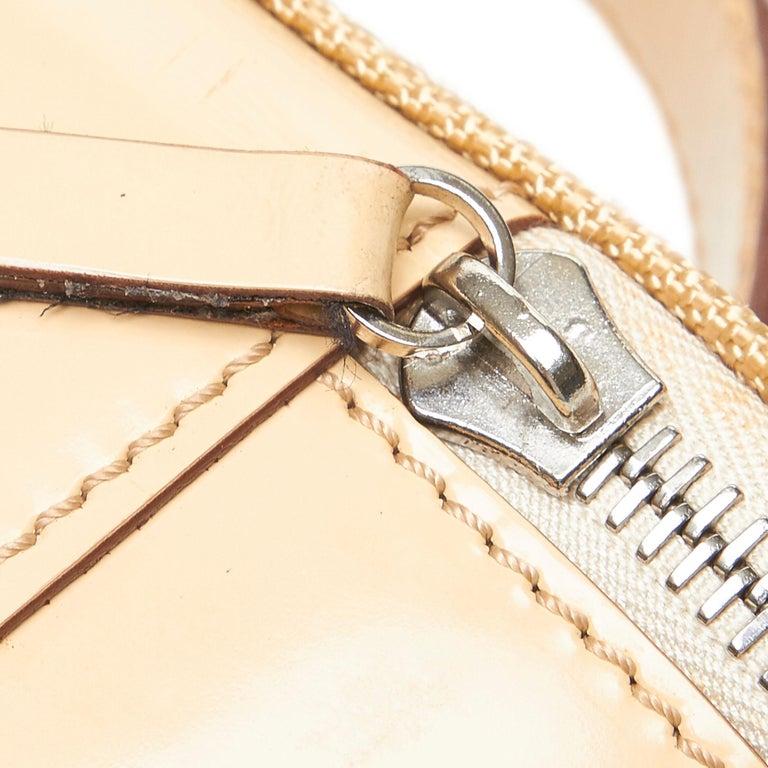 Celine Brown Chemical Fiber Vanity Bag For Sale 3