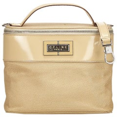 Celine Brown Chemical Fiber Vanity Bag