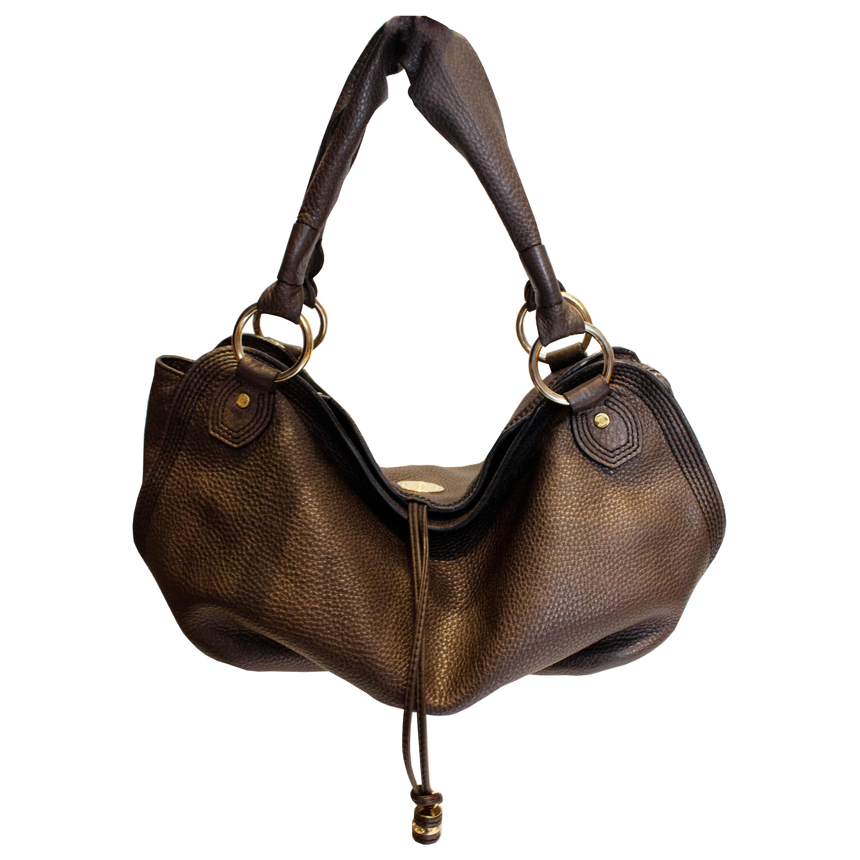 Celine Brown Leather Bag