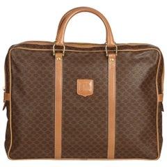 Celine Brown Macadam Briefcase