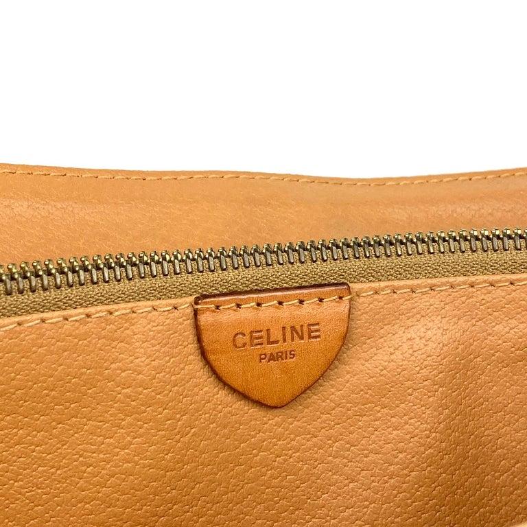 Celine Brown Macadam Celine Crossbody Bag For Sale 4