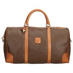 Celine Brown Macadam Duffle Bag
