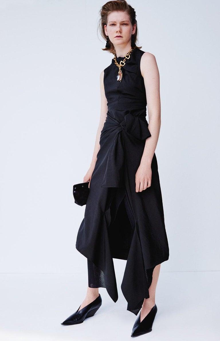 CELINE by Phoebe Philo black dress - Resort 2016 For Sale 5