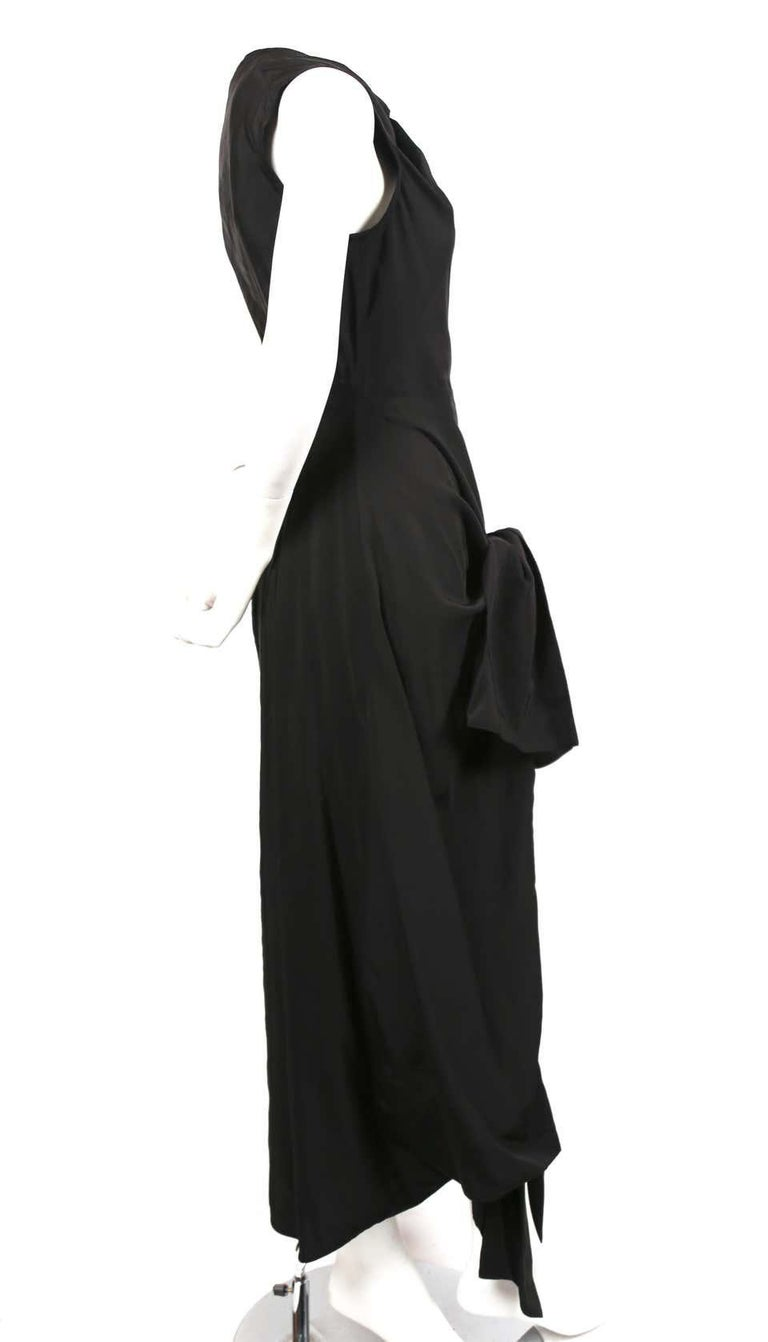 CELINE by Phoebe Philo black dress - Resort 2016 In Excellent Condition For Sale In San Fransisco, CA