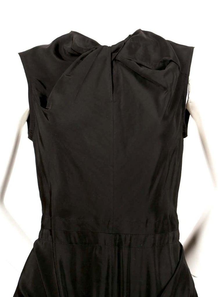 CELINE by Phoebe Philo black dress - Resort 2016 For Sale 1