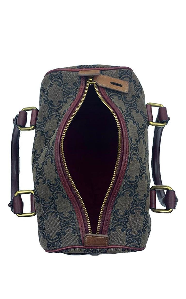 Celine Canvas Monogram Bag  For Sale 5