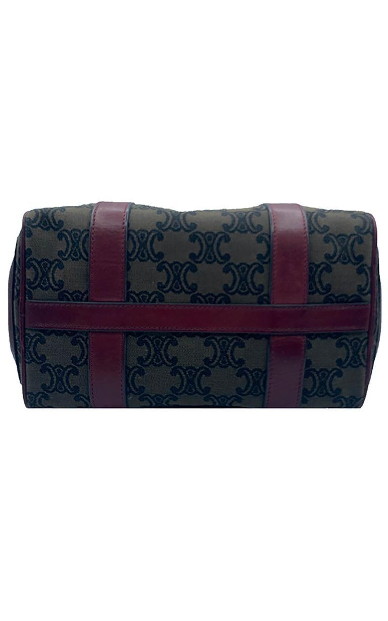 Celine Canvas Monogram Bag  For Sale 1