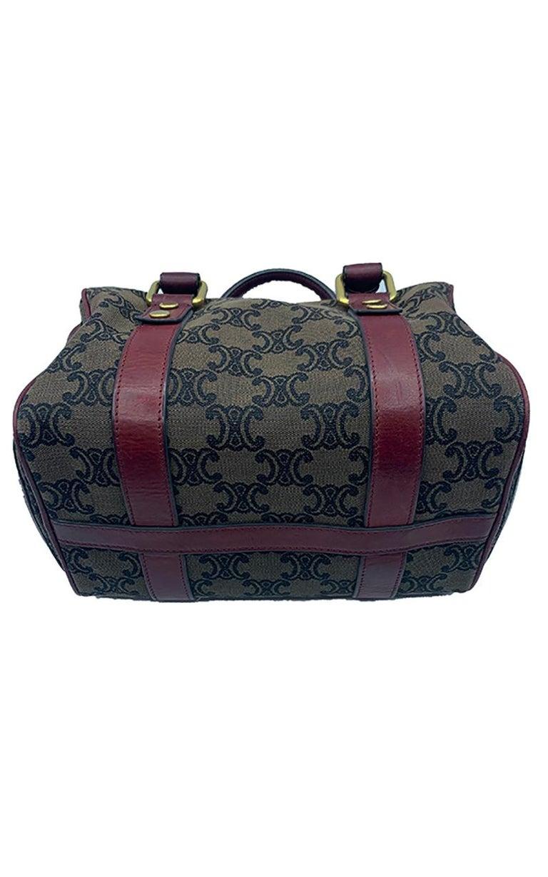 Celine Canvas Monogram Bag  For Sale 2