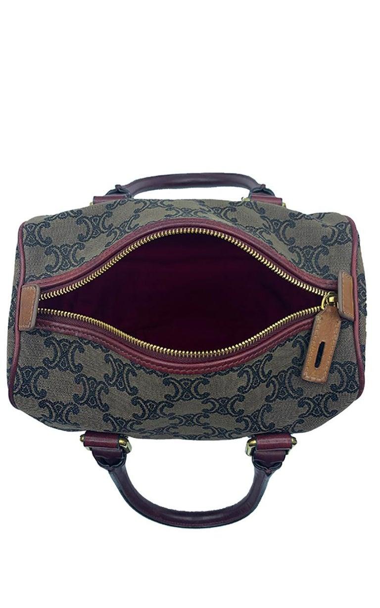 Celine Canvas Monogram Bag  For Sale 4