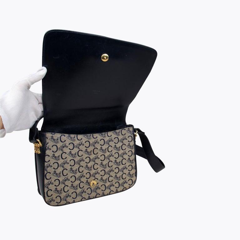Céline Carriage Flap Bag For Sale 4