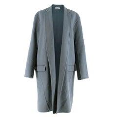 Celine Cashmere Blue Long Coat  XS 36