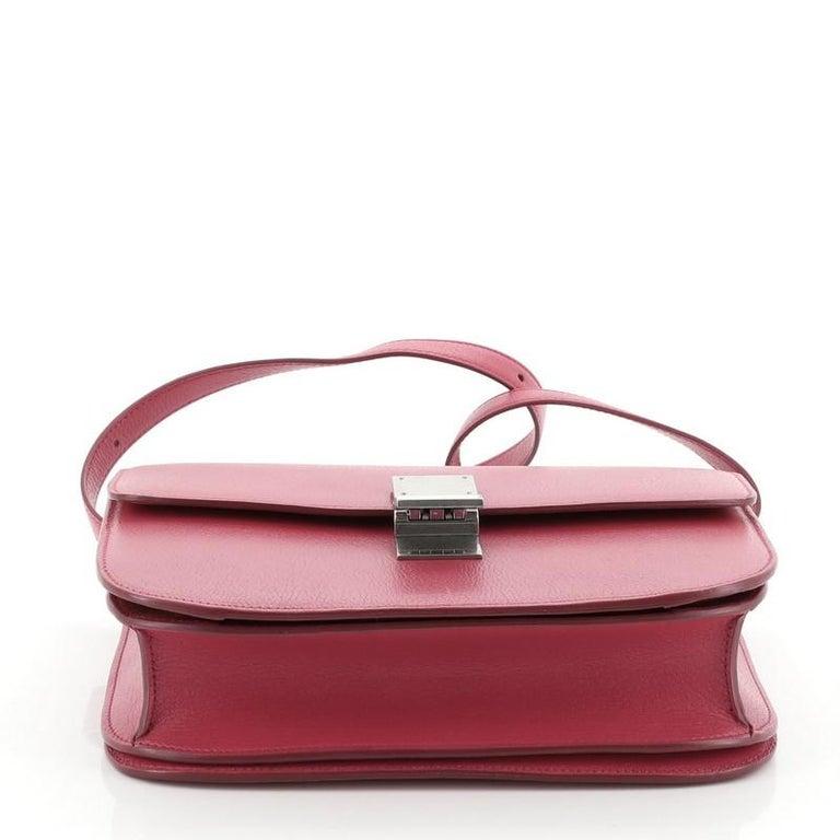 Celine Classic Box Bag Grainy Leather Medium For Sale 1
