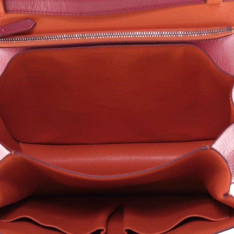 Celine Classic Box Bag Grainy Leather Medium For Sale 2
