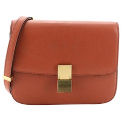 Celine Classic Box Bag Grainy Leather Medium