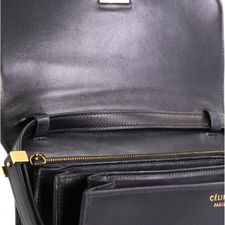 Celine Classic Box Bag Smooth Leather Medium For Sale 4
