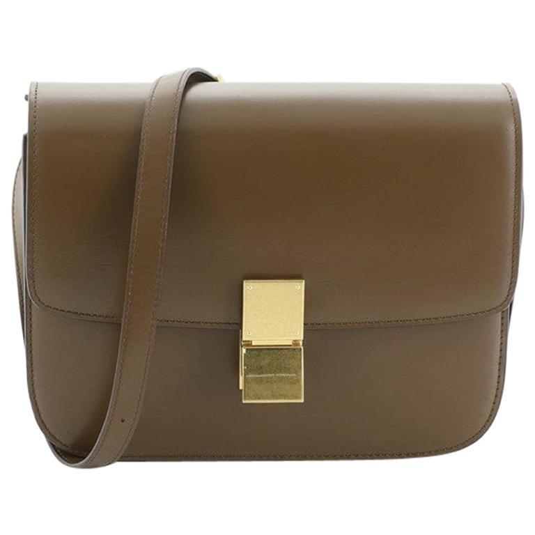Celine Classic Box Bag Smooth Leather Medium For Sale