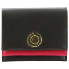 Celine Coin Multifunction Flap Wallet Leather Medium