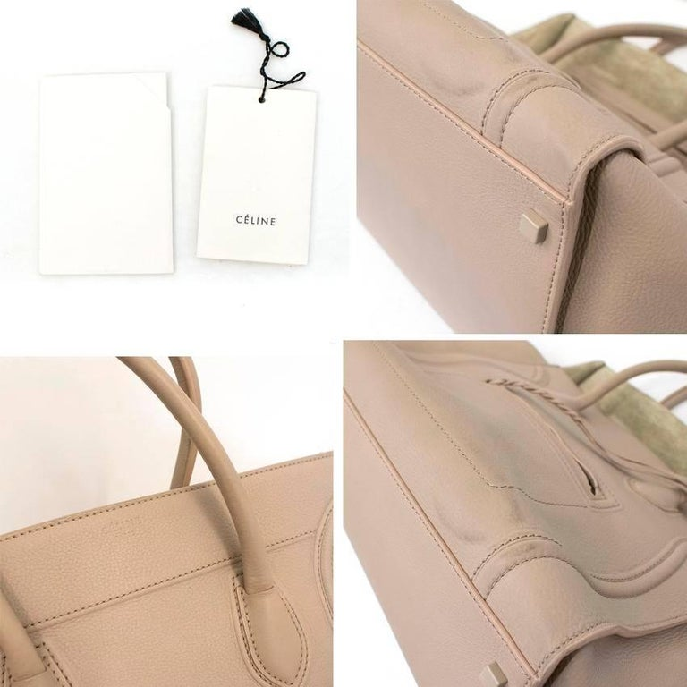 Celine Cream Large Phantom Tote For Sale 5