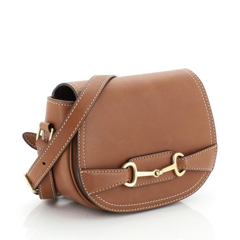 Brown Celine  Crecy Bag Leather Small For Sale