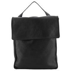 Celine Croissant Backpack Leather