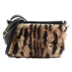 Celine Crossbody Bag Printed Fur Mini