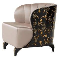 Celine Dark Armchair