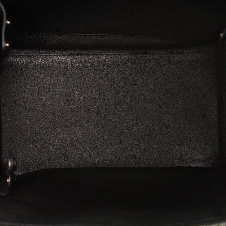 Celine Double Zip Trapeze Bag Leather For Sale 2