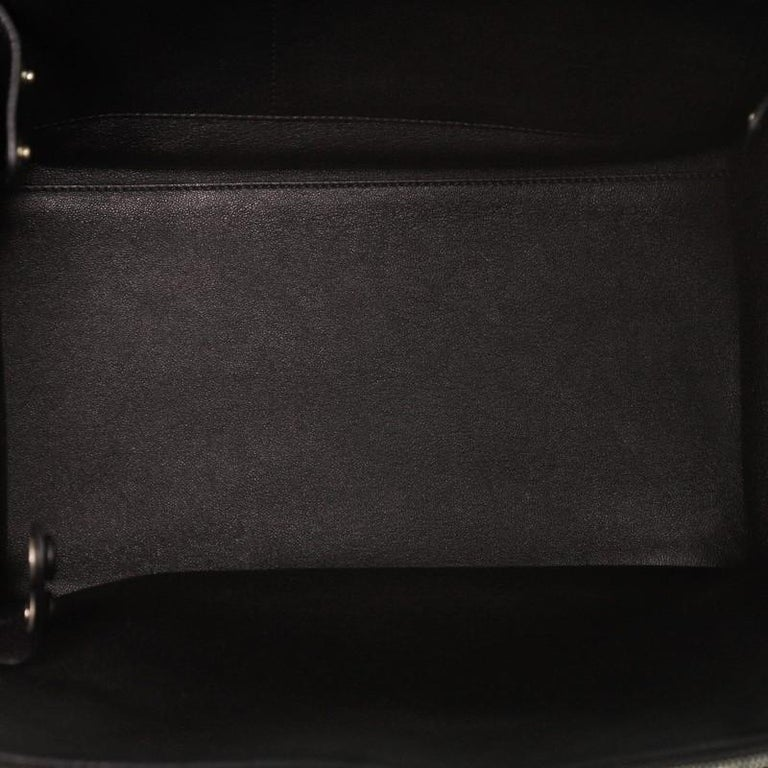 Celine Double Zip Trapeze Bag Leather For Sale 1